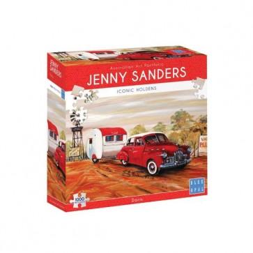 Blue Opal Jenny Sanders Doris Jigsaw Puzzle