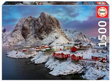 Educa Lofoten Islands, Norway Jigsaw Puzzle