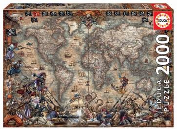 Educa Pirates Map Jigsaw Puzzle