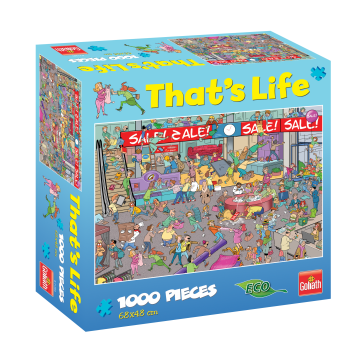 That's Life Sale Jigsaw Puzzle