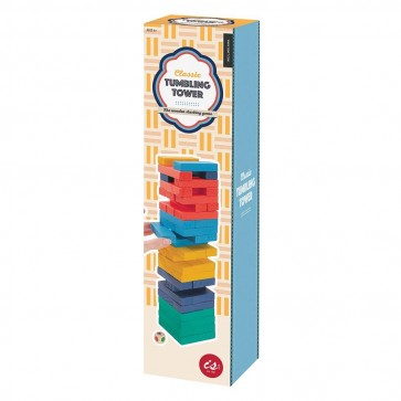 Classic Tumbling Tower - Coloured
