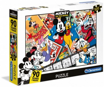 Clementoni Disney Puzzle Mickeys 90th Jigsaw Puzzle
