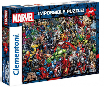 Clementoni Disney Puzzle Marvel Impossible Jigsaw Puzzle