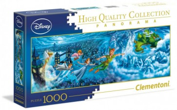Clementoni Disney Puzzle Peter Pan Panorama Jigsaw Puzzle