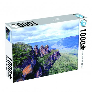 Puzzlers World 3 Sisters, Blue Mountains Jigsaw Puzzle