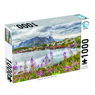 Puzzlers World Lofoten Island, Norway Jigsaw Puzzle