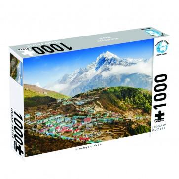 Puzzlers World Himalayas, Nepal Jigsaw Puzzle