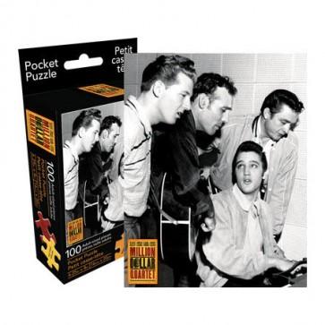 Elvis - Million Dollar Quartet 100pc Pocket Puzzle