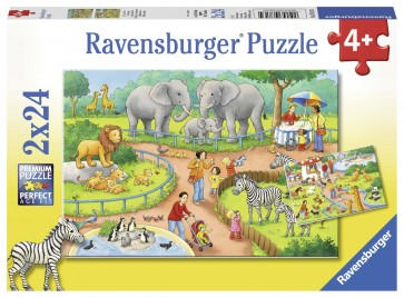 A Day at the Zoo Puzzle