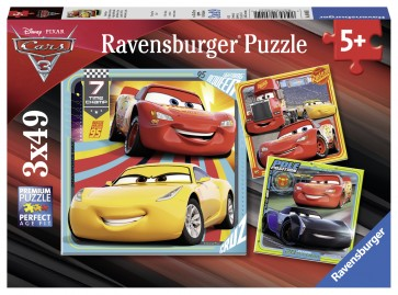 Disney Cars 3 Collection Puzzle