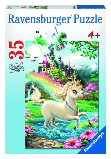 Rburg - Unicorn Castle Puzzle 35pc