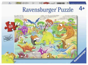 Time Traveling Dinos Puzzle