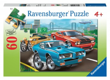 Rburg - Muscle Cars Puzzle 60pc
