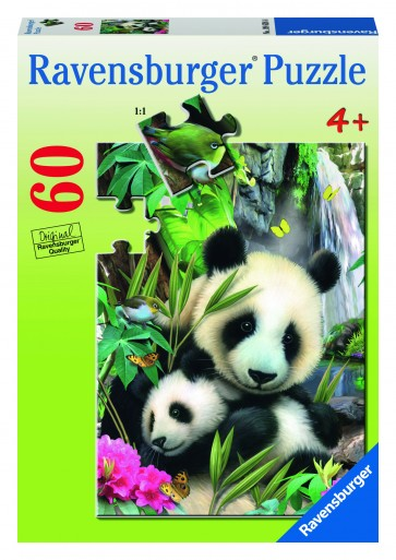 Rburg - Panda Family Puzzle 60pc