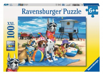 Rburg - No Dogs on the Beach Puzzle 100pc