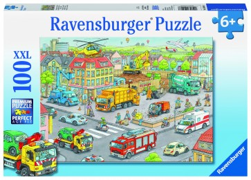 Rburg - Vehicles in the City 100pc Puzzle