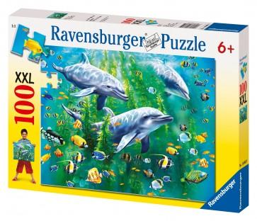 Rburg - Dolphin Trio Puzzle 100pc