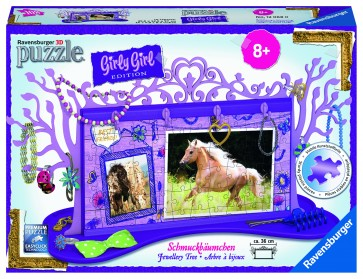Rburg - Horses Jewellery Tree 3D Puzzle 108pc
