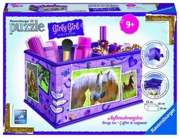 Rburg - Horses Storage Box 3D Puzzle 216pc