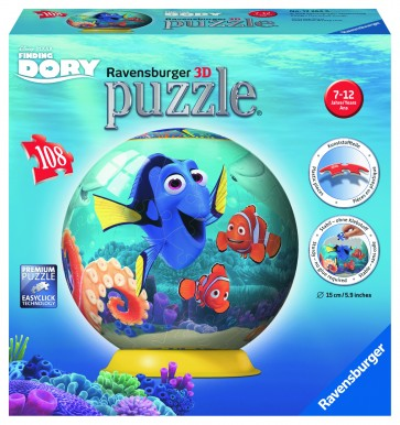 Rburg - Disney Finding Dory 3D Puzzleball 108pc