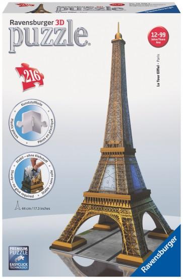 Rburg - Eiffel Tower 3D Puzzle 216pc