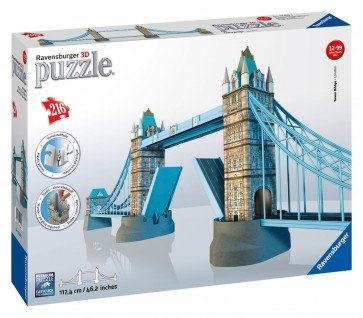 Rburg - Tower Bridge 3D Puzzle 216pc