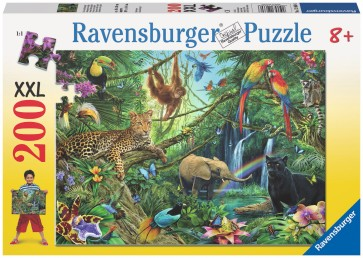 Rburg - Animals in the Jungle Puzzle 200pc