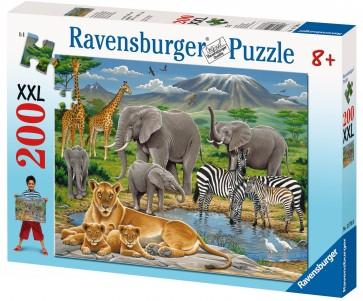 Rburg - Animals In Africa Puzzle 200pc