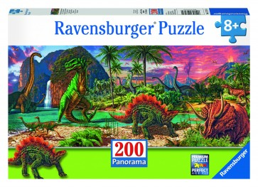 Rburg - Land of the Dinosaurs Puzzle 200pc