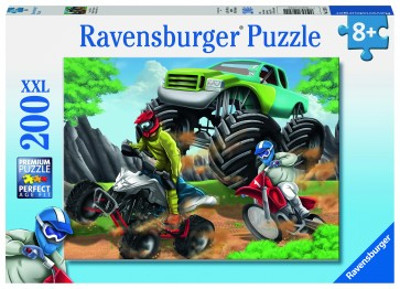 Rburg - Power Vehicles 200pc Puzzle