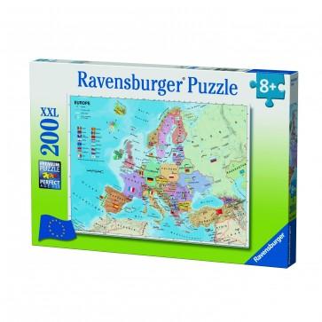 Rburg - European Map Puzzle 200pc
