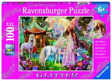 Princess with Unicorn Puzzle