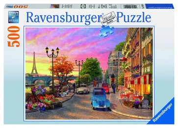 Rburg - A Paris Evening Puzzle 500pc