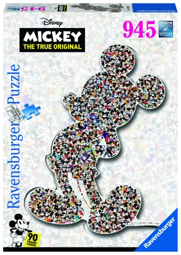Disney Shaped Mickey Puzzle Puzzle