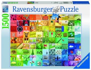 Rburg - 99 Colours 1500pc Puzzle