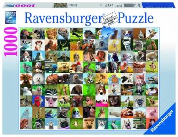 Rburg - 99 Funny Animals Puzzle 1000pc