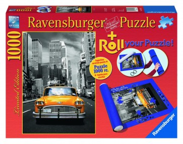 Rburg - New York Taxi 1000pc-Roll Your Puzzle