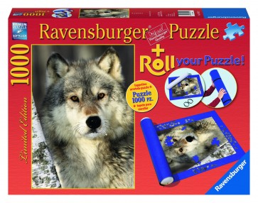 Rburg - Wolf 1000pc + Roll Your Puzzle