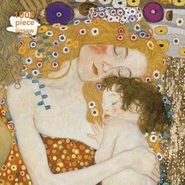 Gustav Klimt: Three Ages of Woman Jigsaw Puzzle