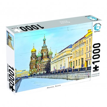 Puzzlers World Moscow, Russia Jigsaw Puzzle