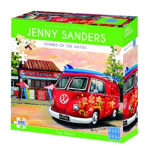 Blue Opal Jenny Sanders The Shack Jigsaw Puzzle