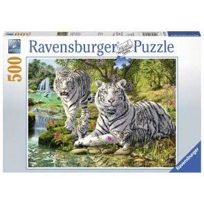 Ravensburger White Cat Jigsaw Puzzle