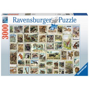 Ravensburger Animal Stamps Jigsaw Puzzle