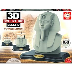 Educa 3D Sculpture - Tutankhamon Jigsaw Puzzle