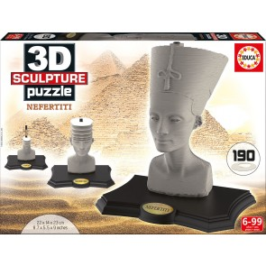 Educa 3D Sculpture - Nefertiti Jigsaw Puzzle