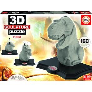 Educa 3D Sculpture - T-Rex Jigsaw Puzzle