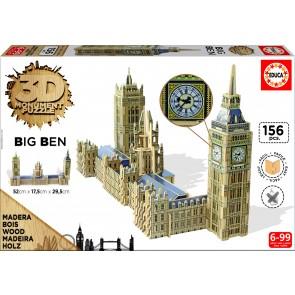 Educa 3D Monument - Big Ben & Parliament Jigsaw Puzzle