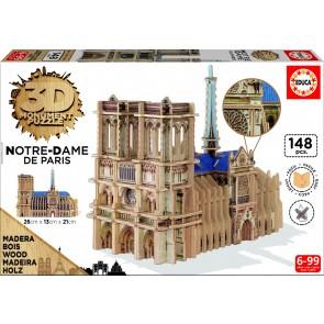 Educa 3D Monument - Notre Dame, Paris Jigsaw Puzzle