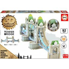 Educa 3D Monument - Tower Bridge Jigsaw Puzzle