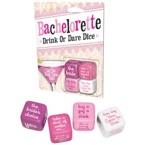 iPartyHard Bachelorette Drink or Dare Dice Game